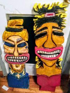 Custom Tiki people. .
