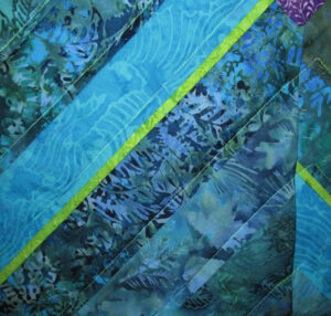 Depth Fabric Art Quilt