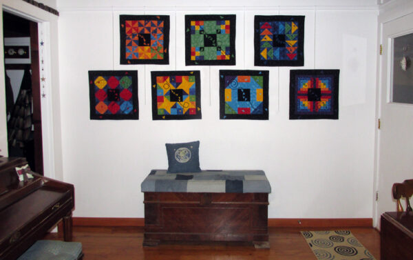 All 7 Focus Through the Prism art quilts