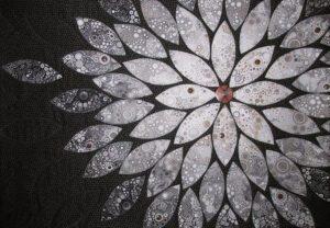Letting Go Fabric Art Quilt