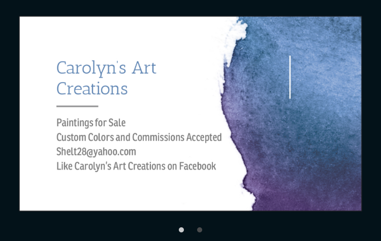 Carolyn's Art Creations