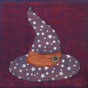 Witch One Fabric Art Quilt